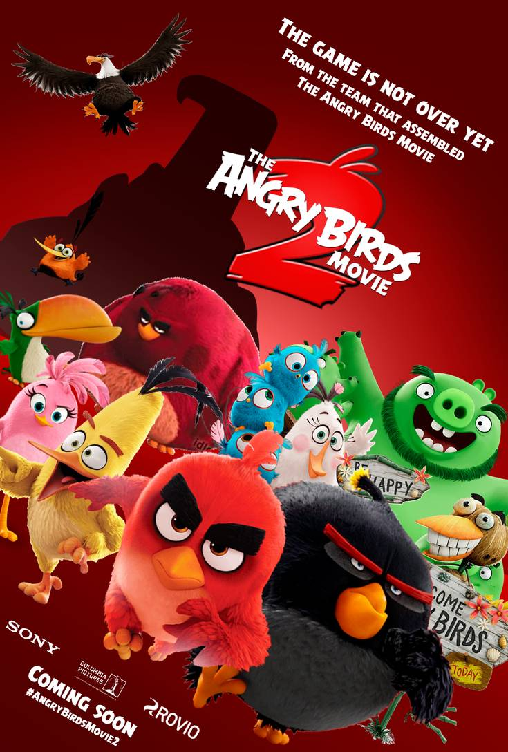 3D: The Angry Birds Movie 2